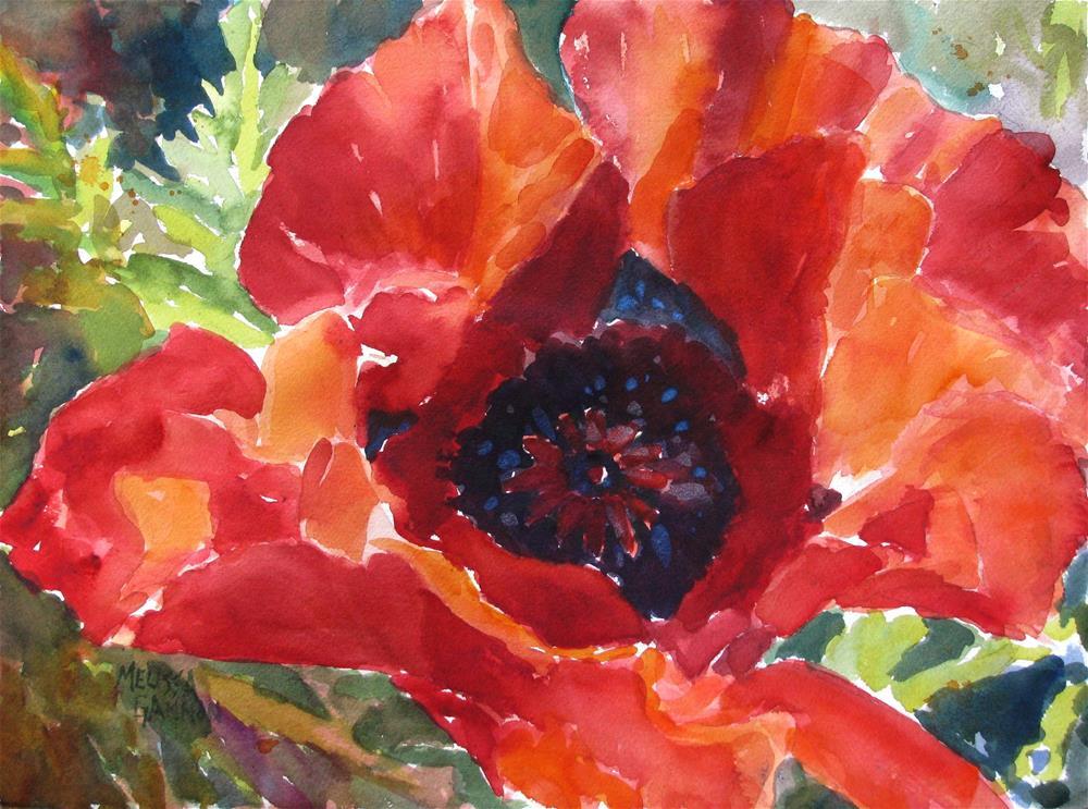 """""""Wide Open"""" original fine art by Melissa Gannon"""