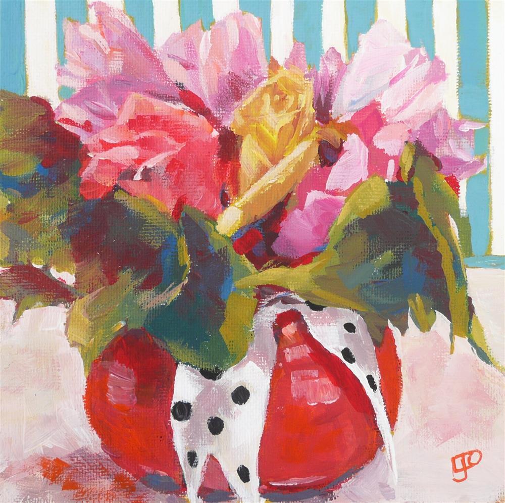 """""""Serendipity"""" original fine art by Leanne Owen"""