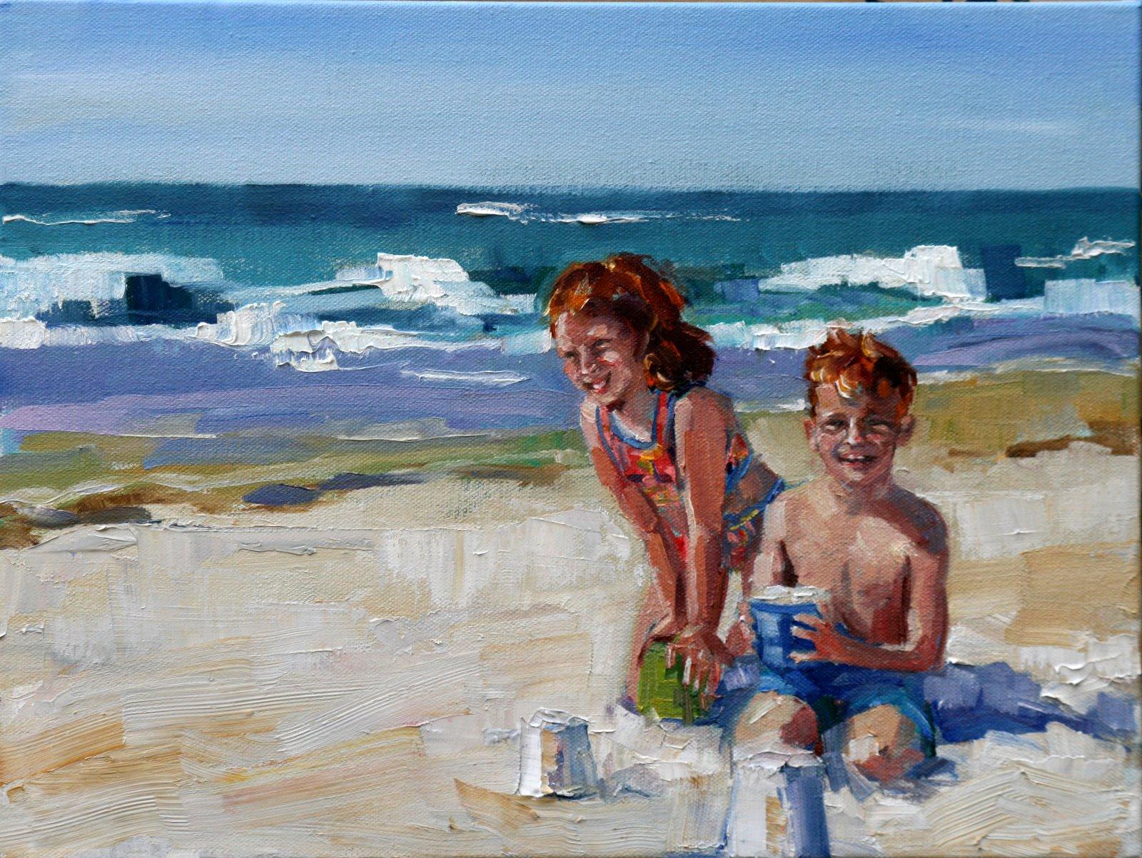 """McCarrons"" original fine art by Carol Carmichael"