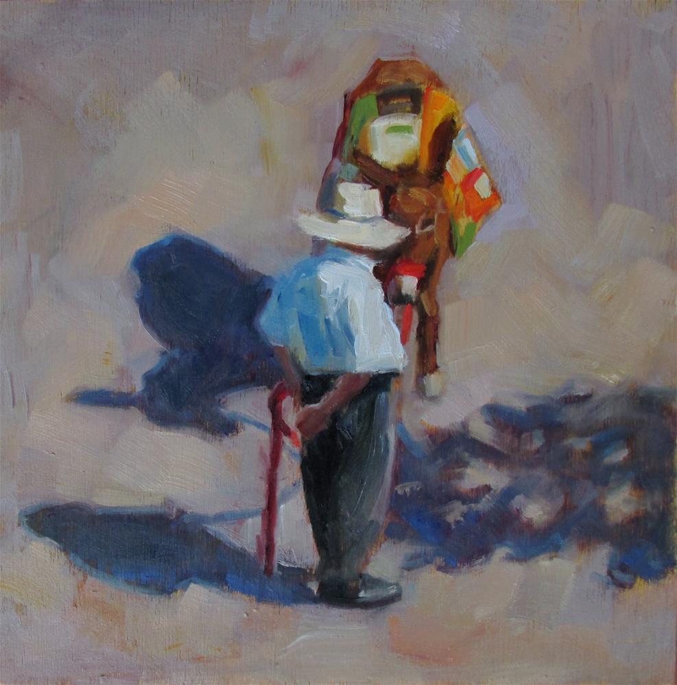 """""""Eye To Eye"""" original fine art by Dana Cooper"""