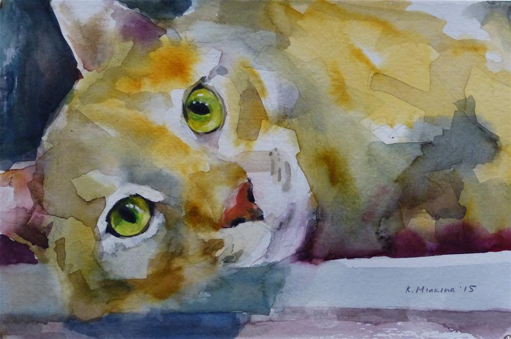 """adopt134"" original fine art by Katya Minkina"