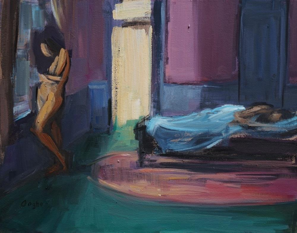 """Nocturnal"" original fine art by Angela Ooghe"