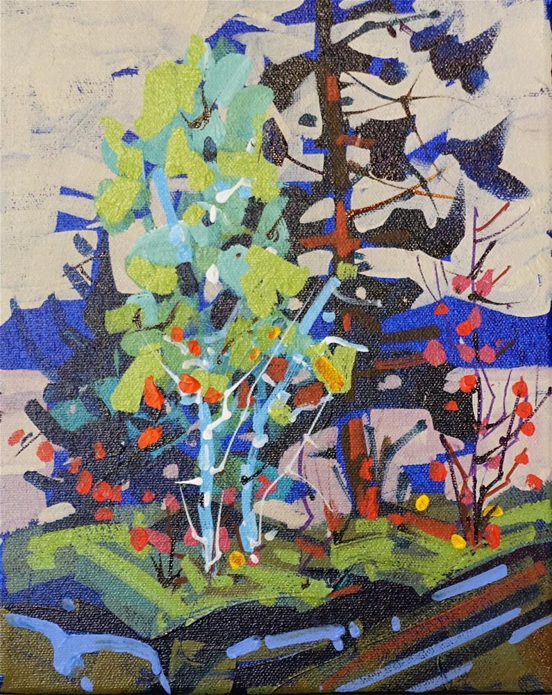 """""""Blue Hills"""" original fine art by Brian Buckrell"""