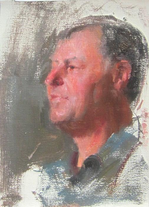 """portrait"" original fine art by Taisia Kuklina"