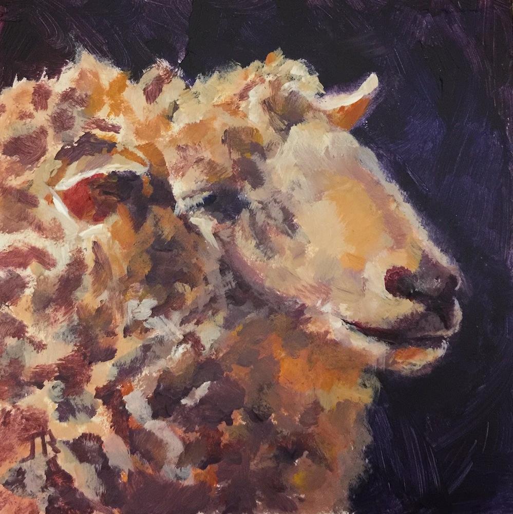 """Gentle Spirit"" original fine art by June Rollins"