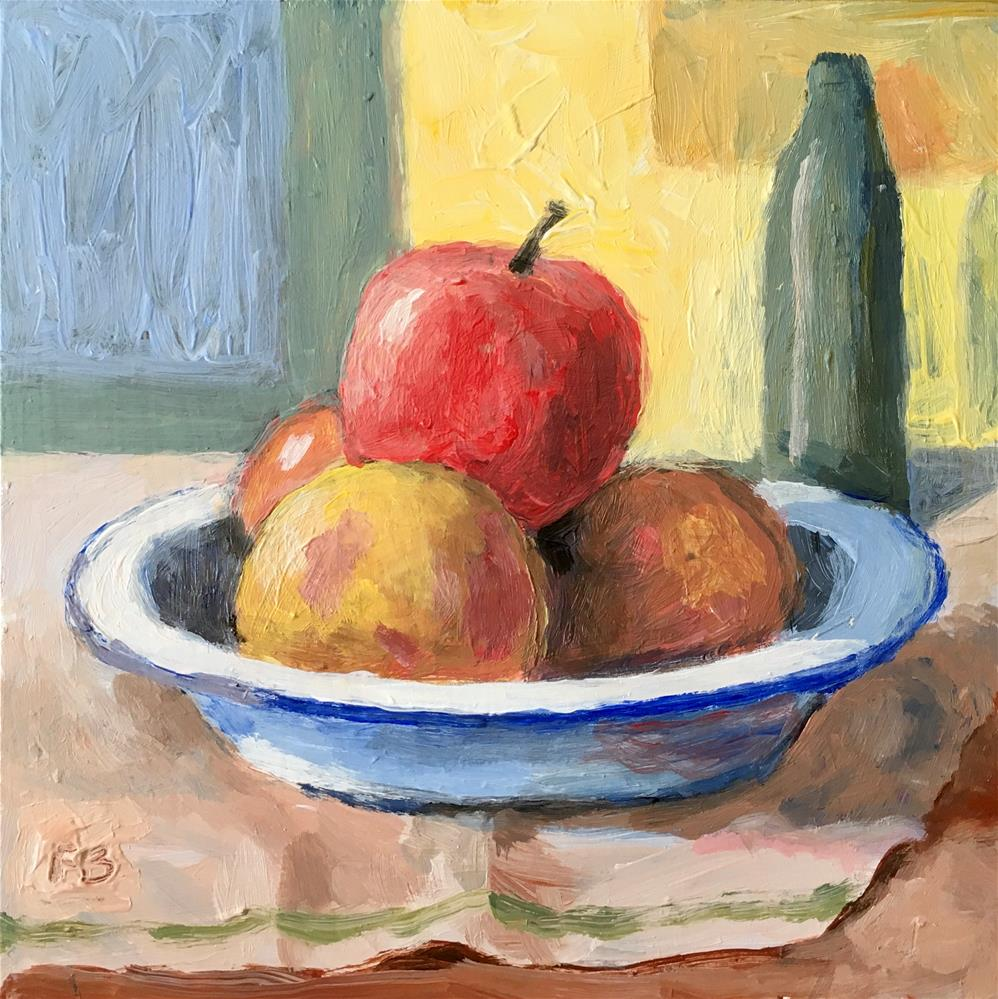 """230 The Fruit Bowl"" original fine art by Fred Bell"