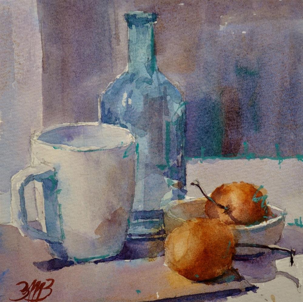 """Oishi Nashi"" original fine art by Brienne M Brown"