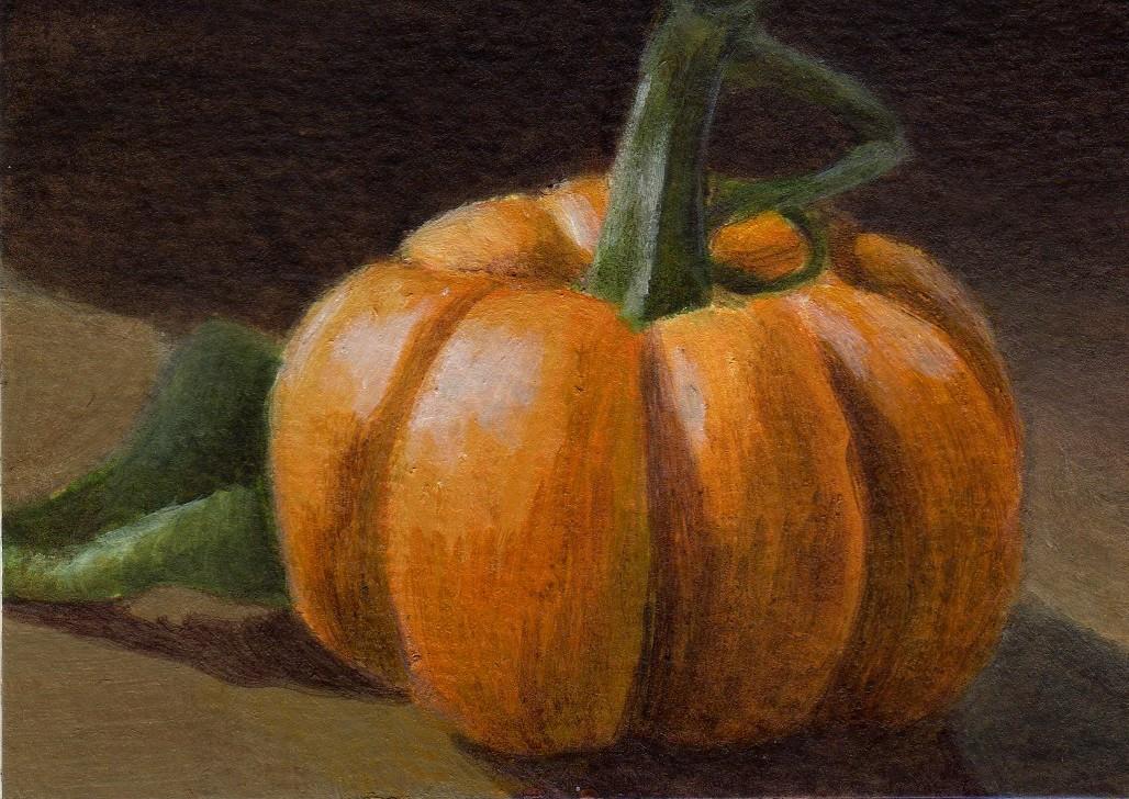 """Autumn Light"" original fine art by Debbie Shirley"