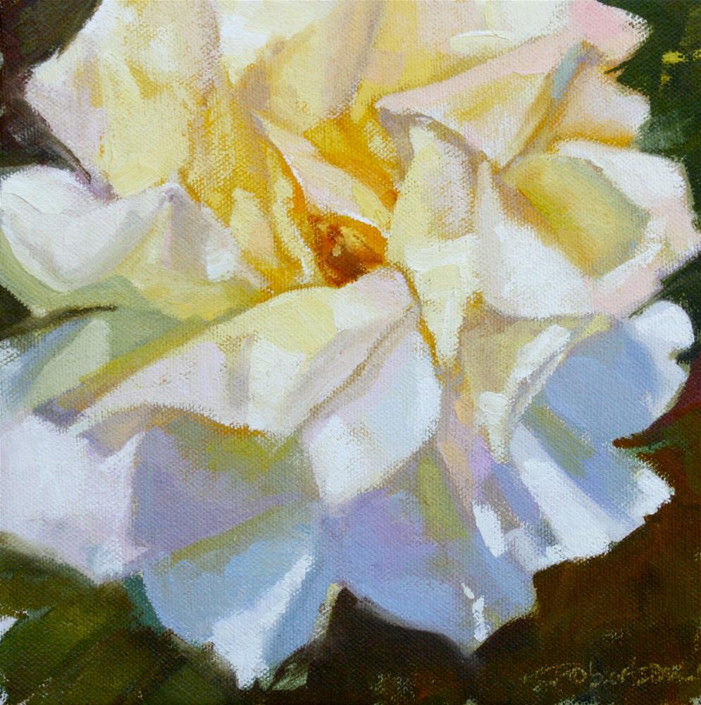 """The Rose Challenge"" original fine art by Jane Robertson"