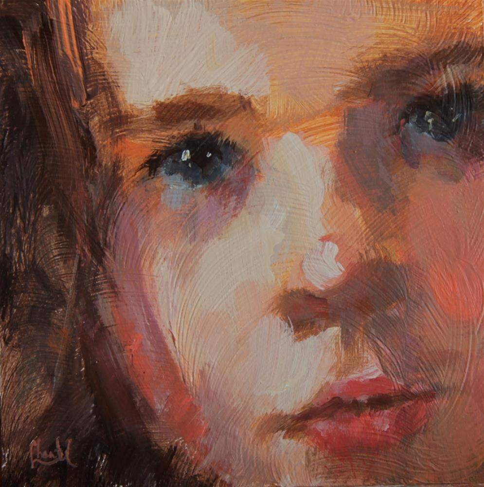 """In Wonder"" original fine art by Chantel Barber"