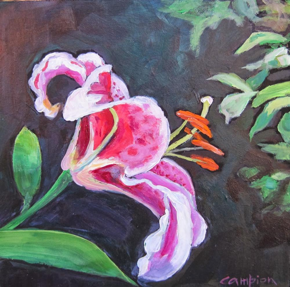 """175 Fragrant Beauty"" original fine art by Diane Campion"
