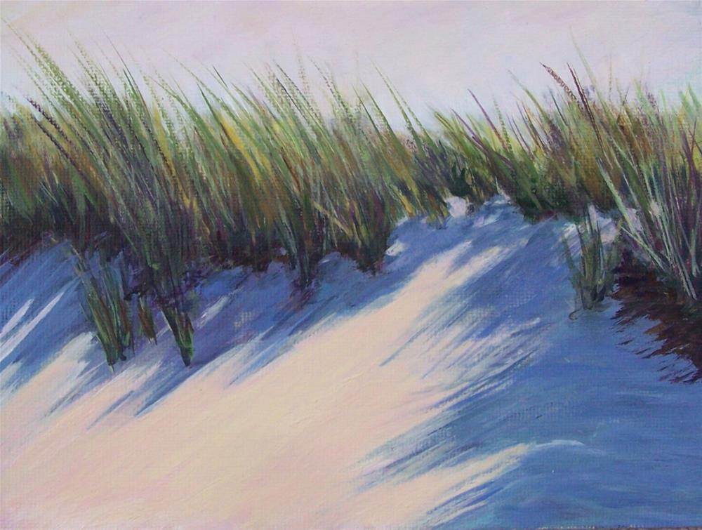 """Sand Dune"" original fine art by Joan Matero"