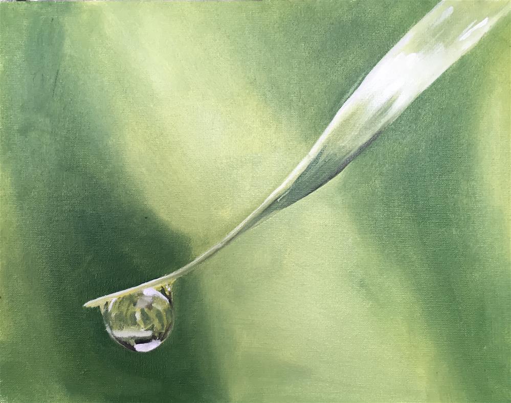 """Droplet"" original fine art by James Coates"