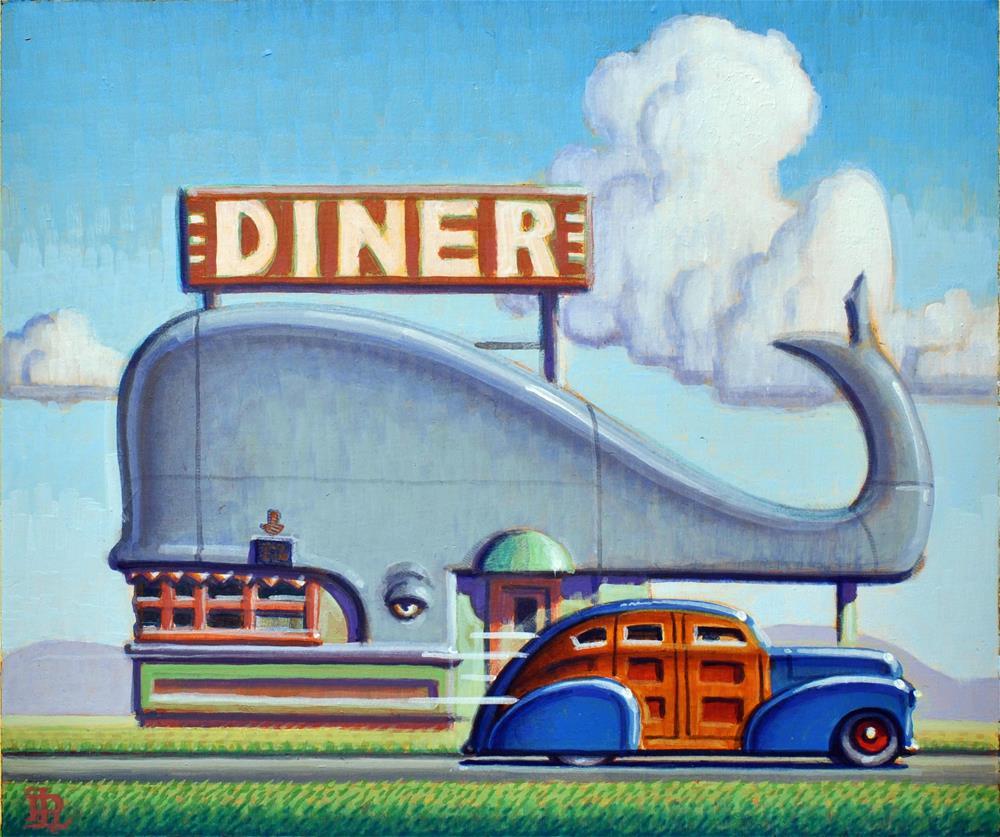 """Whale"" original fine art by Robert LaDuke"