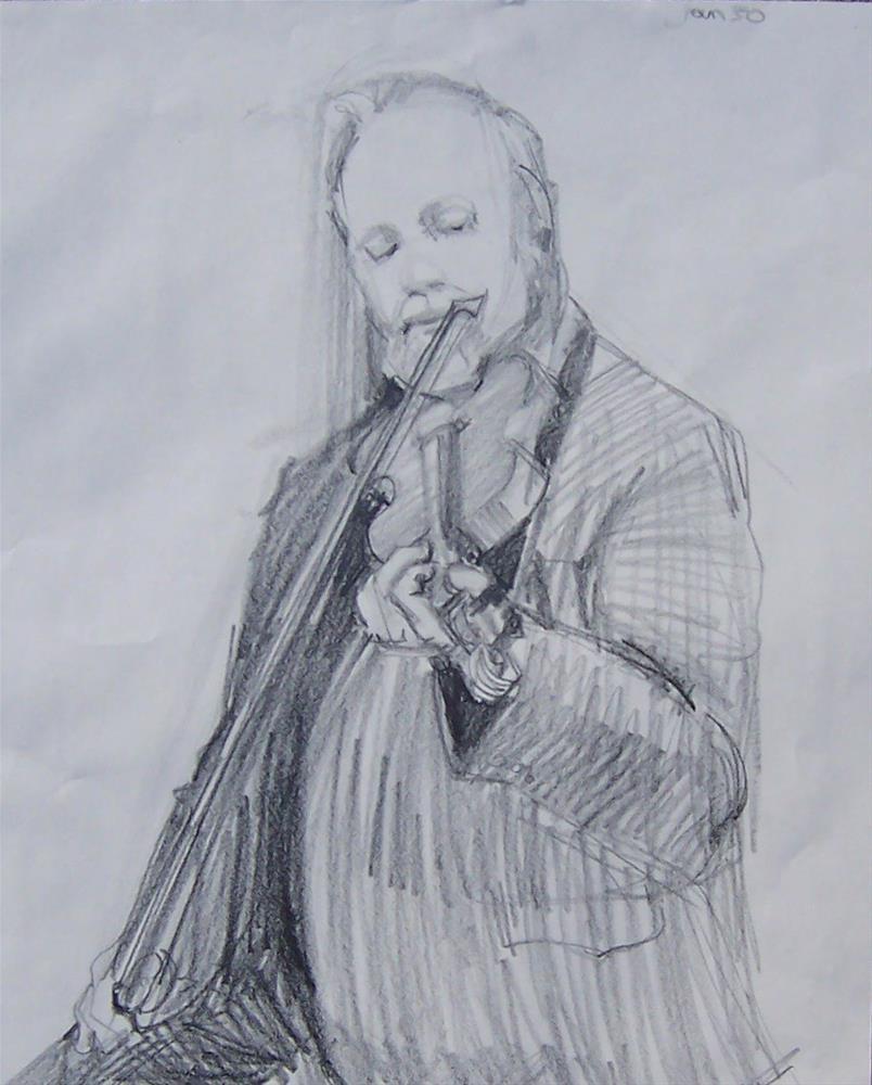 """Drawing of Jim,graphite pencil on paper,18x24,price$200"" original fine art by Joy Olney"