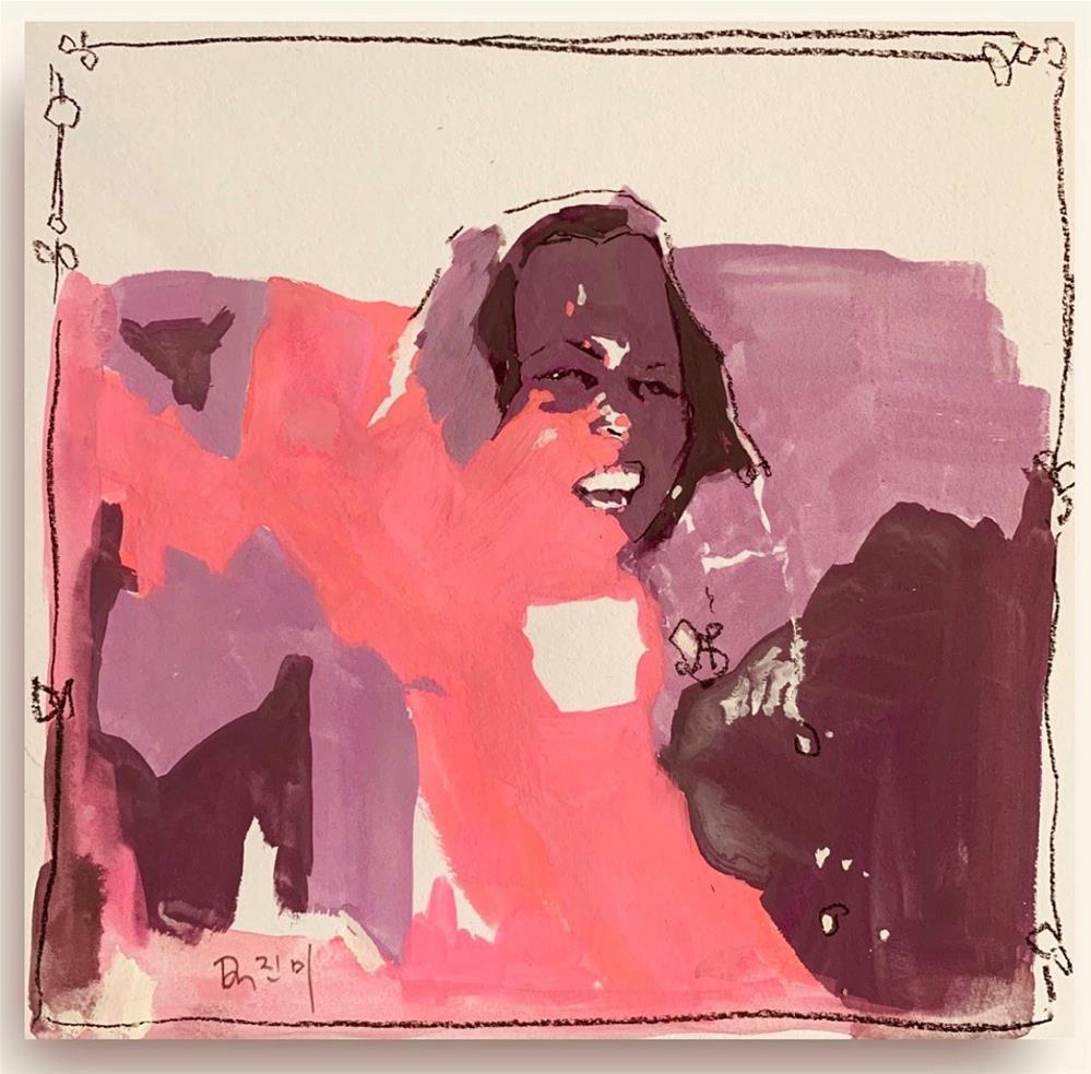 """""""808 Kamala"""" original fine art by Jenny Doh"""