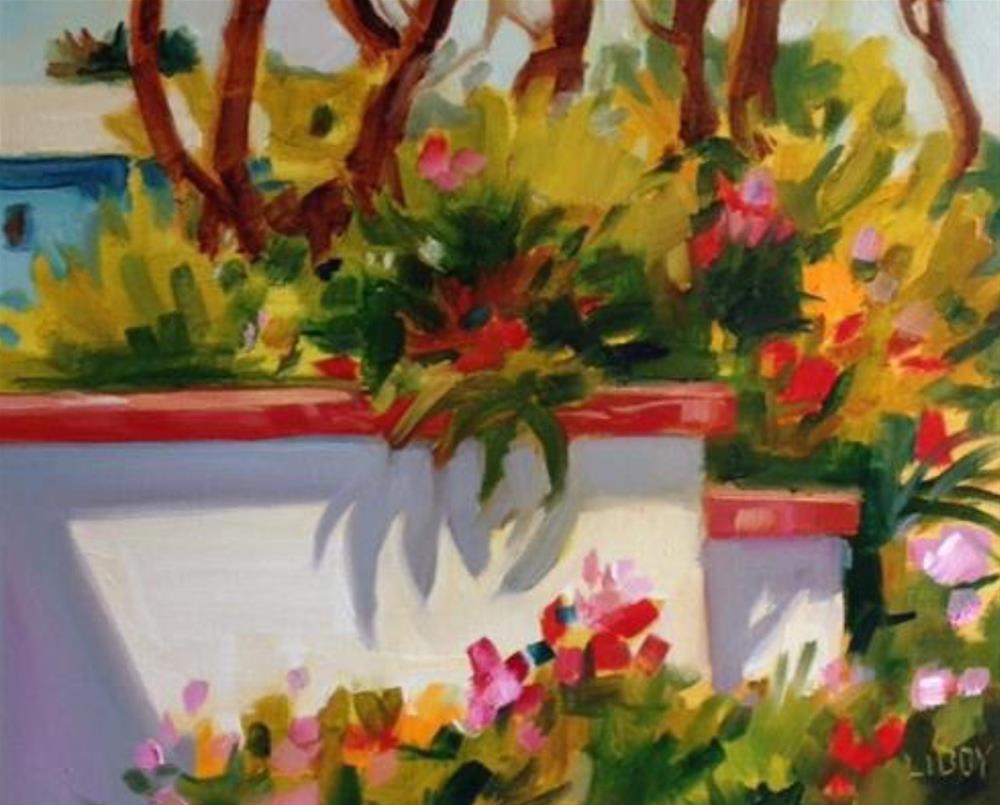"""""""Naples News"""" original fine art by Libby Anderson"""