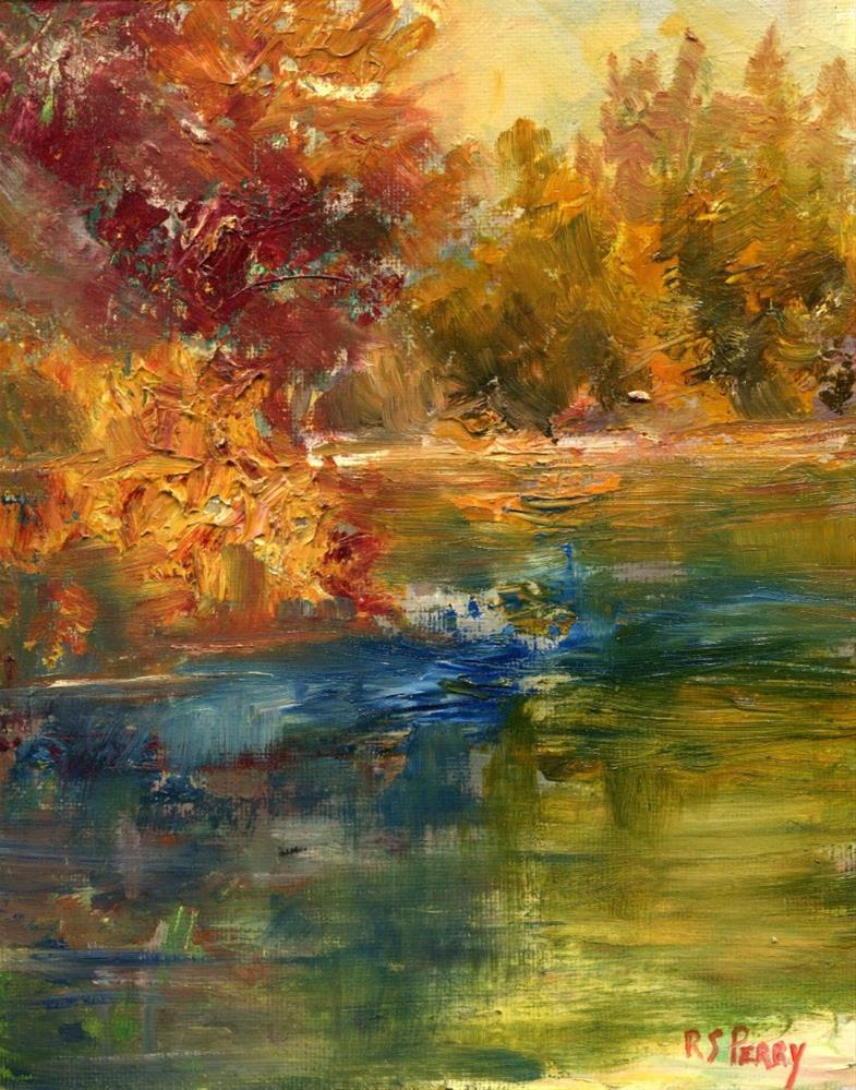 """Lakeside, Arkansas "" original fine art by R. S. Perry"