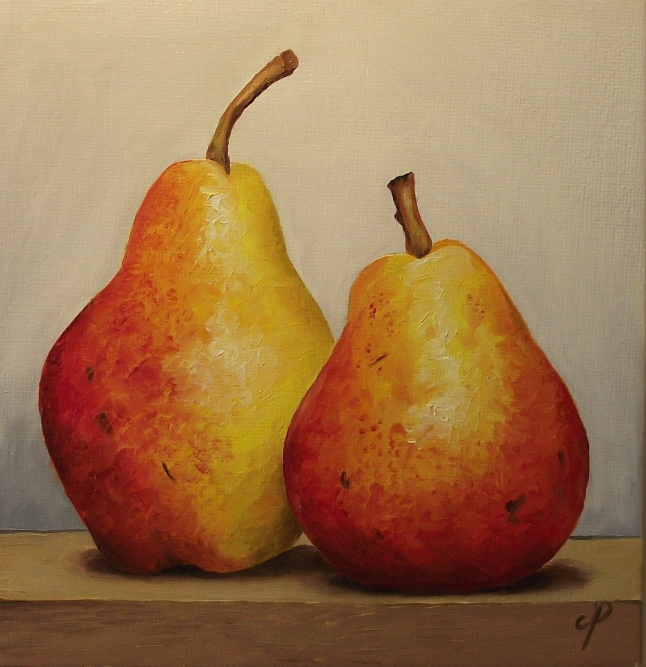 """Rosemarie Pears"" original fine art by Jane Palmer"