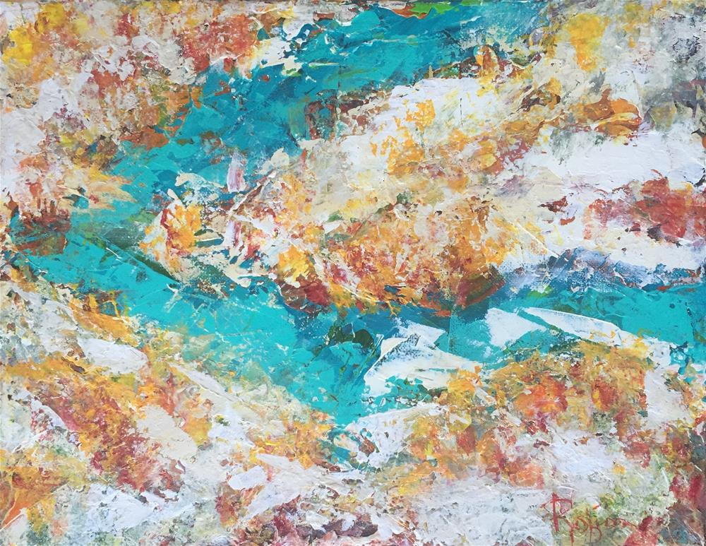 """Rio Grande Gorge"" original fine art by Renee Robison"