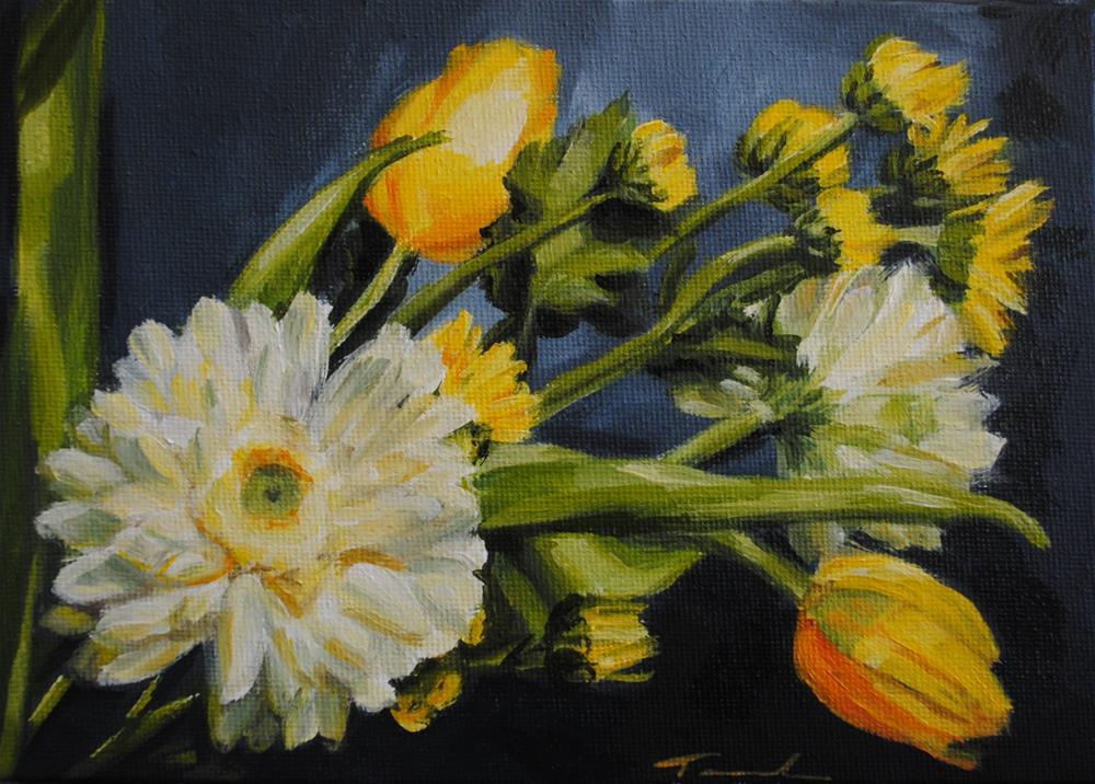 """Spring Sunrise"" original fine art by Tamanda Elia"