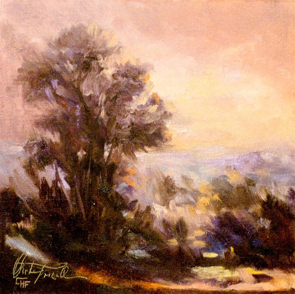 """Sunrise"" original fine art by Christa Friedl"
