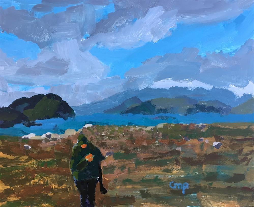 """""""Newfoundland"""" original fine art by Christine Parker"""