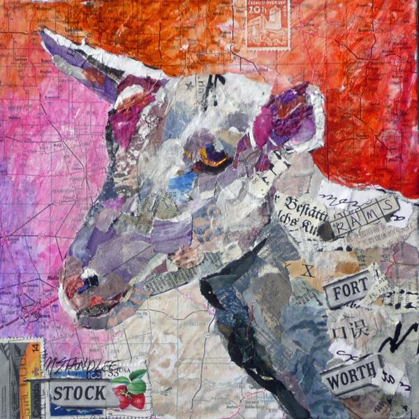 """Fort Worth Billy SOLD"" original fine art by Nancy Standlee"