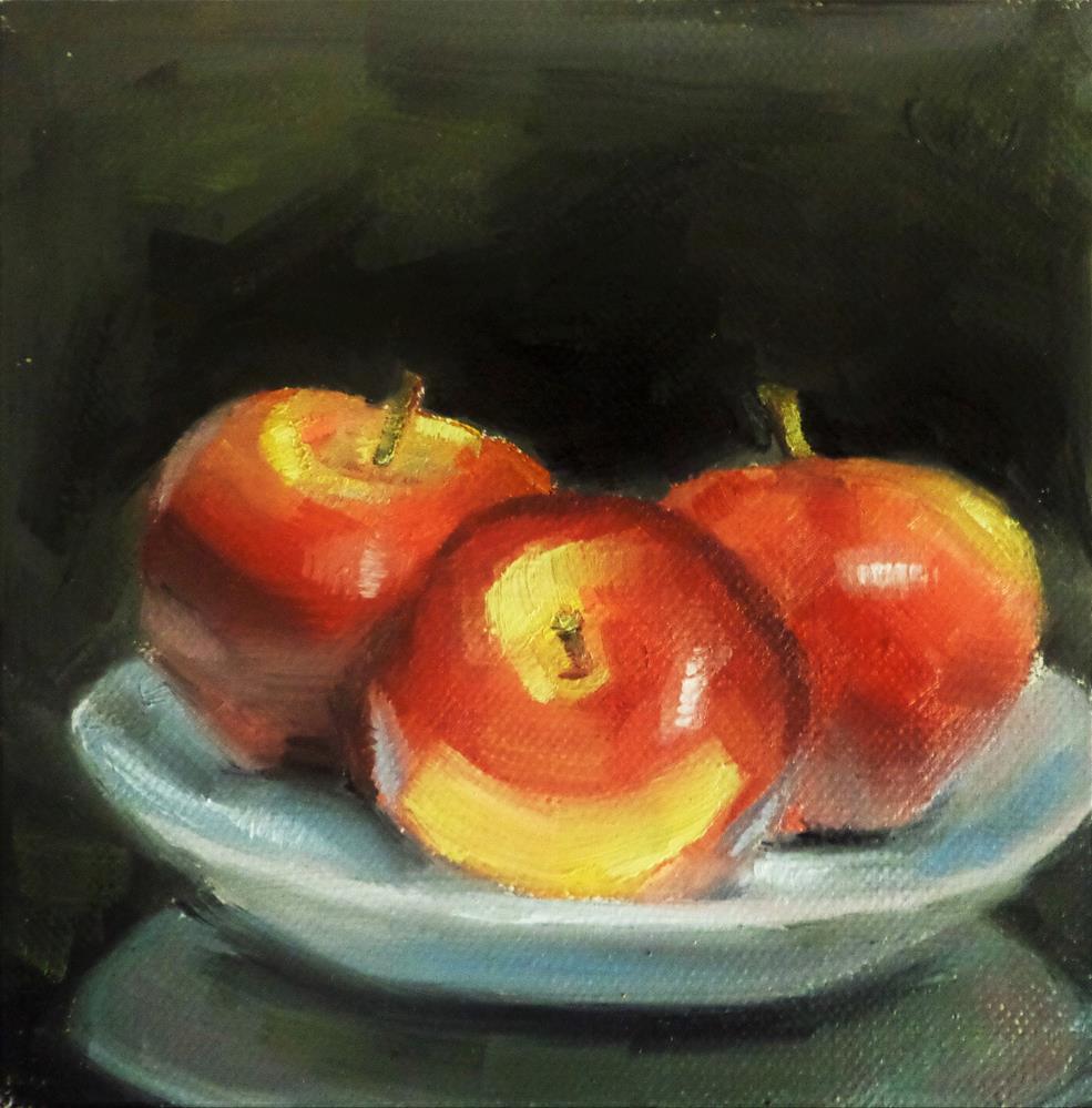"""Apples"" original fine art by Maria Z."