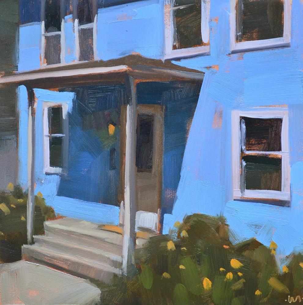 """Blue Blue"" original fine art by Carol Marine"