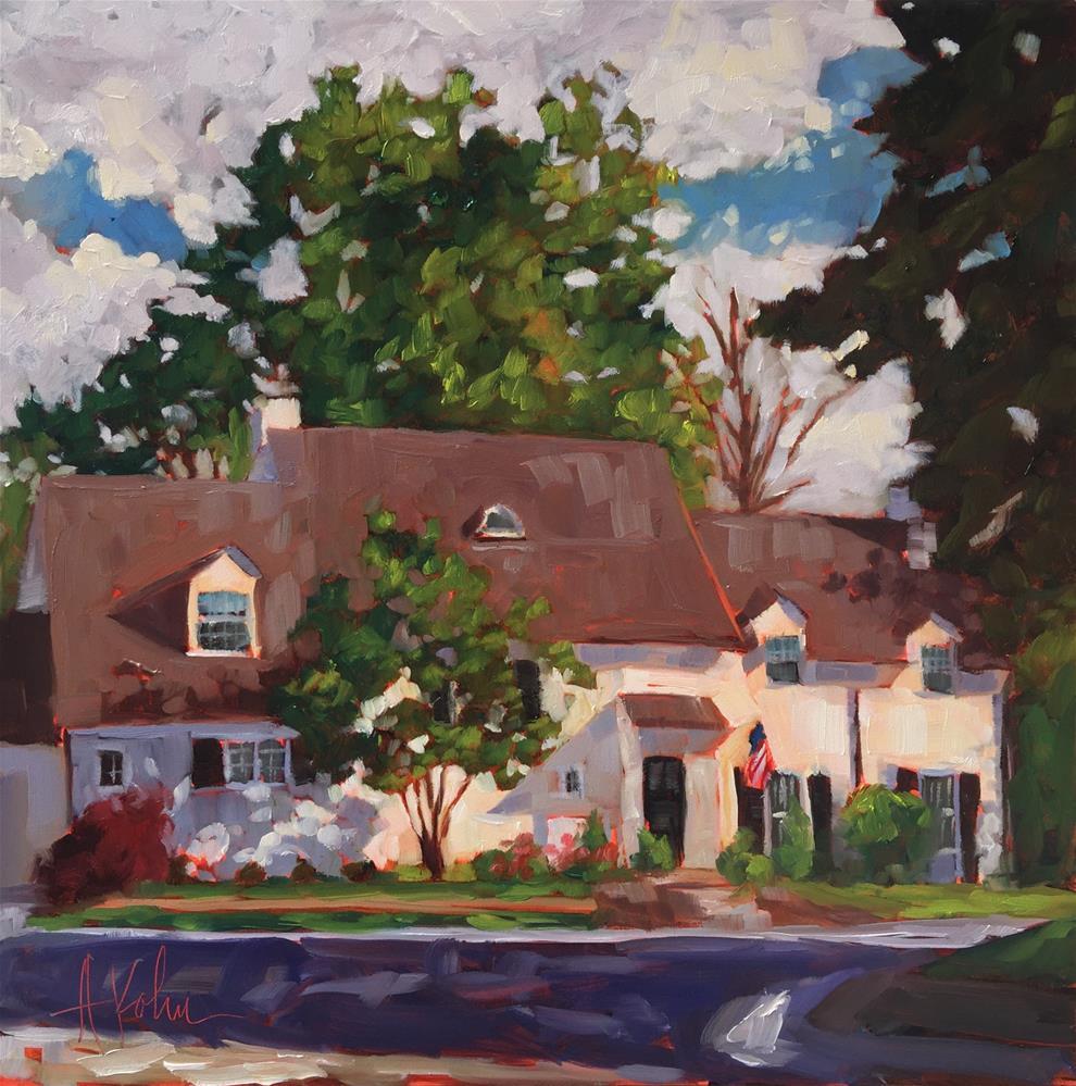 """Rachael's House"" original fine art by Hallie Kohn"