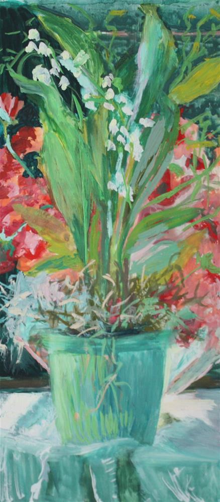 """""""Celebrate"""" original fine art by Pamela Sweet"""