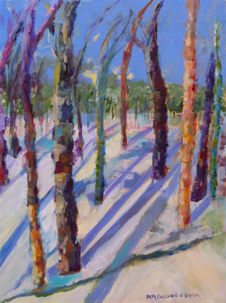 """Winter Wonderland"" original fine art by Beth Carrington Brown"