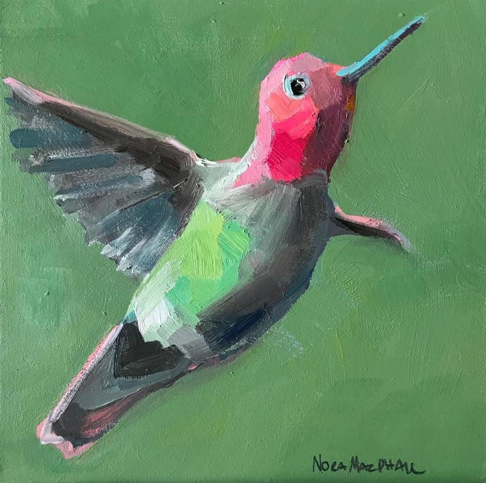 """""""little wonder"""" original fine art by Nora MacPhail"""