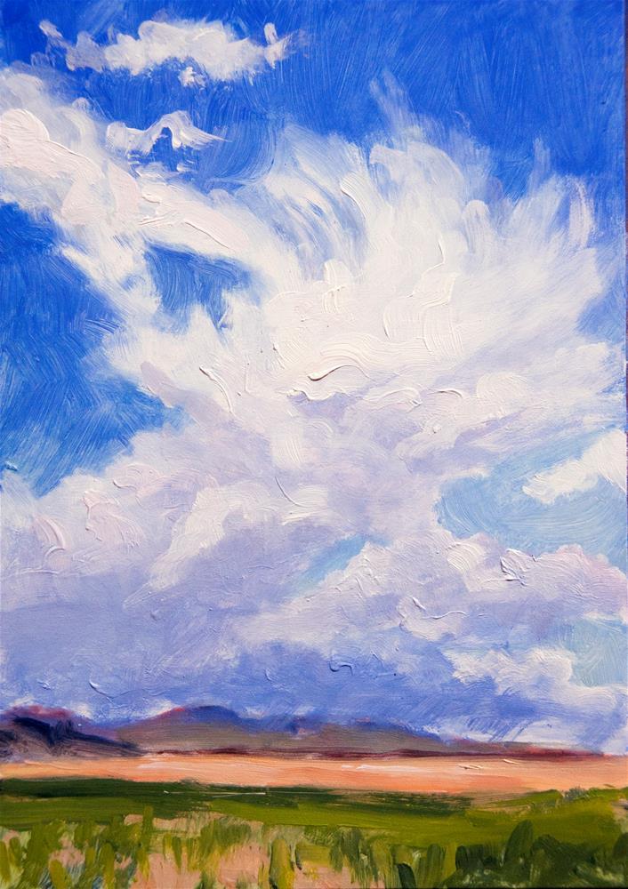 """West of Citipointe"" original fine art by Gary Alsum"
