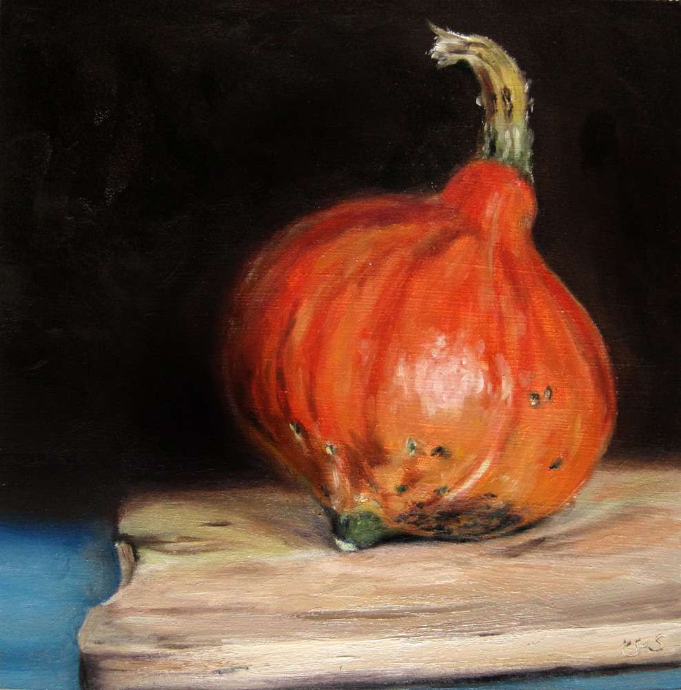 """Pumpkin"" original fine art by Ulrike Miesen-Schuermann"