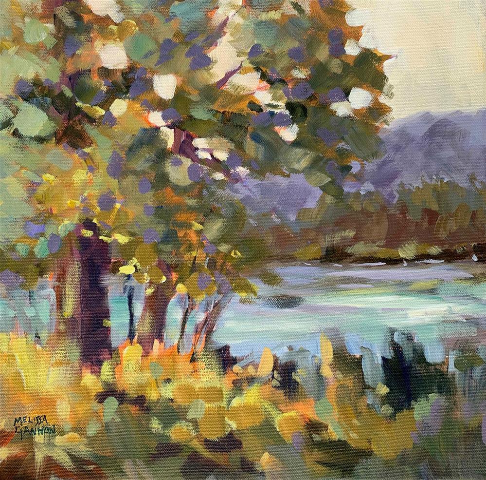 """""""Just Think Summer"""" original fine art by Melissa Gannon"""