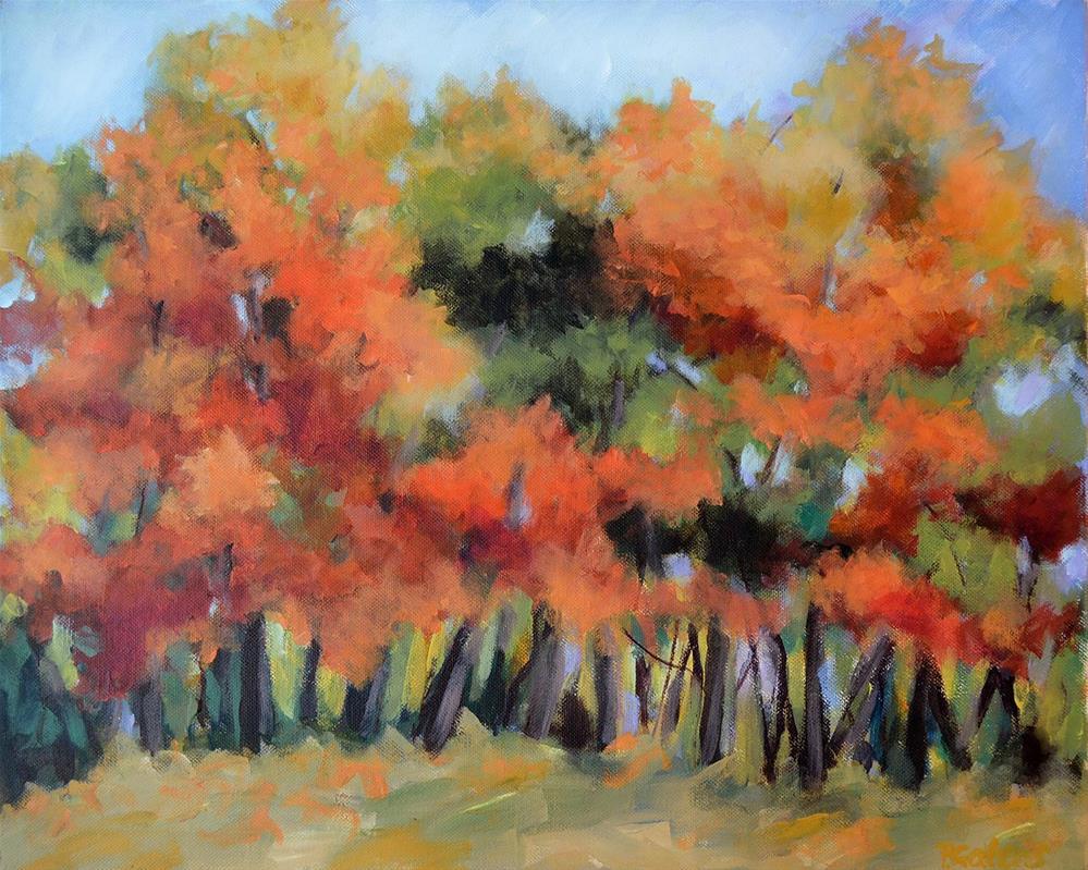 """""""WV Autumn Colors"""" original fine art by Pamela Gatens"""