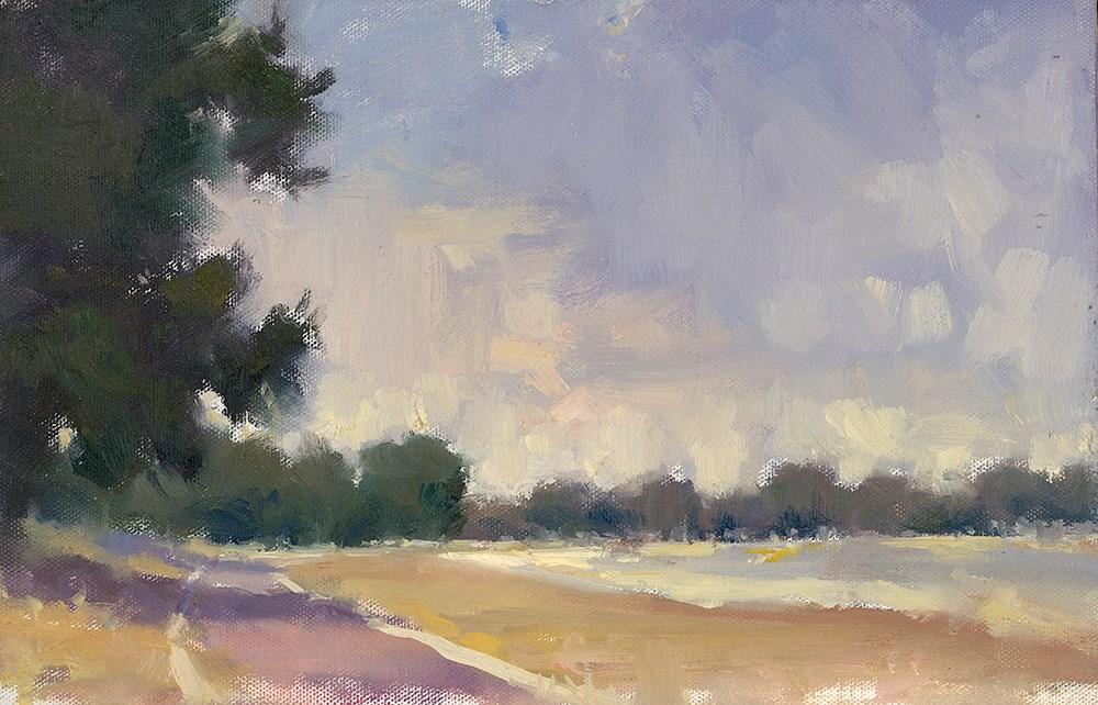 """Pontiac Lake Beach"" original fine art by Todd Zuithof"