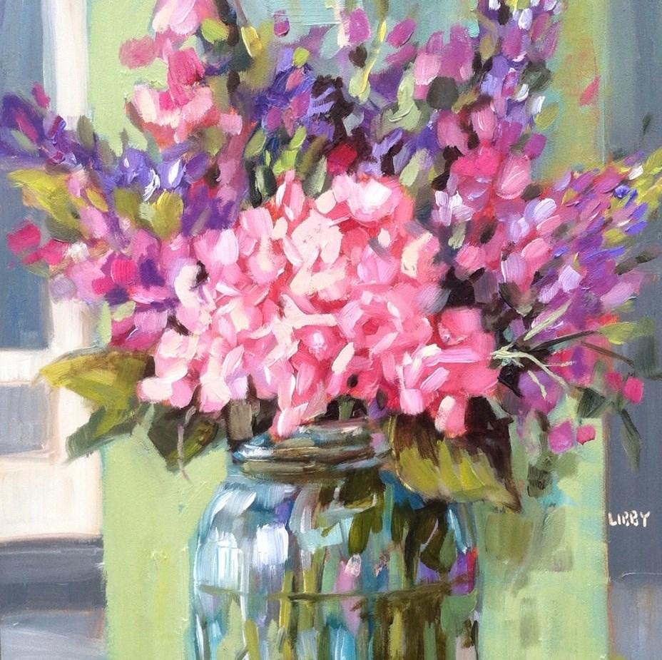 """It's Delicate"" original fine art by Libby Anderson"