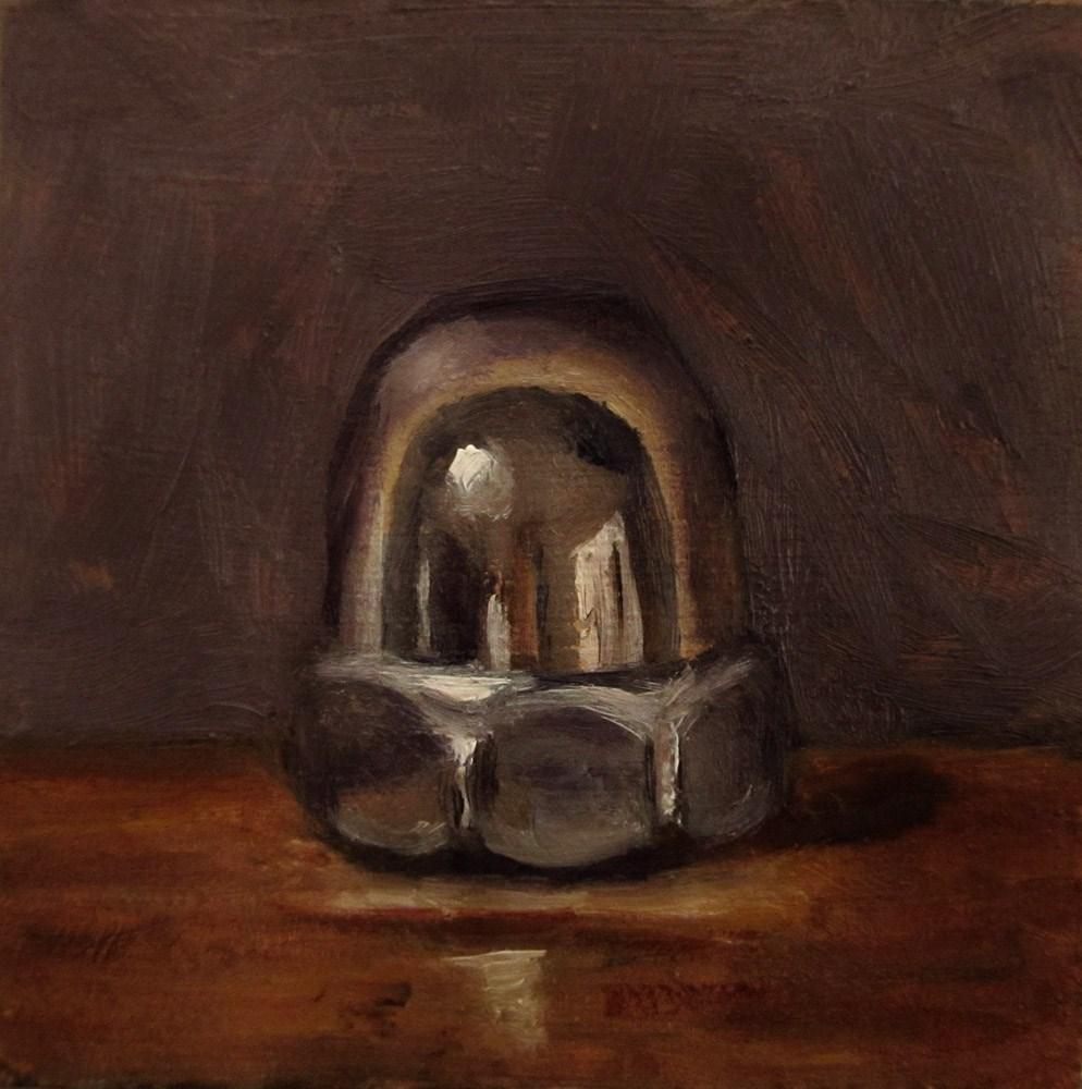 """Acorn Nut"" original fine art by Ulrike Miesen-Schuermann"