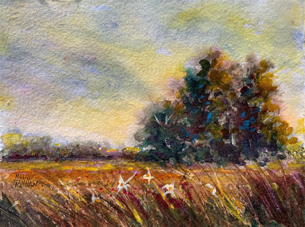"""""""Late on a Summer Afternoon"""" original fine art by Melissa Gannon"""