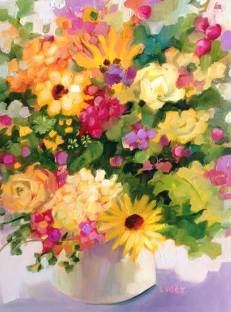 """Joy Place"" original fine art by Libby Anderson"