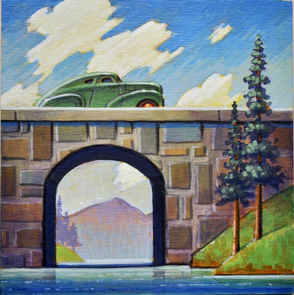 """Sunday Drive"" original fine art by Robert LaDuke"