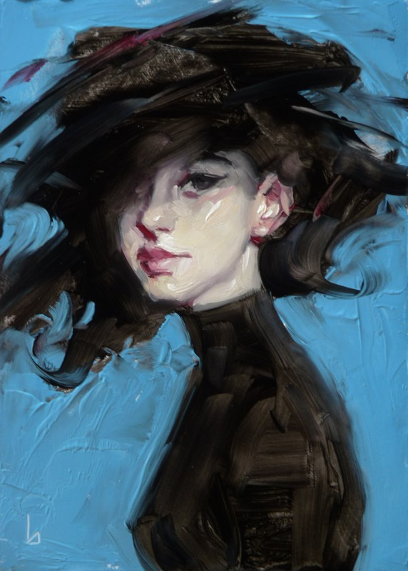 """Tempest 2"" original fine art by John Larriva"