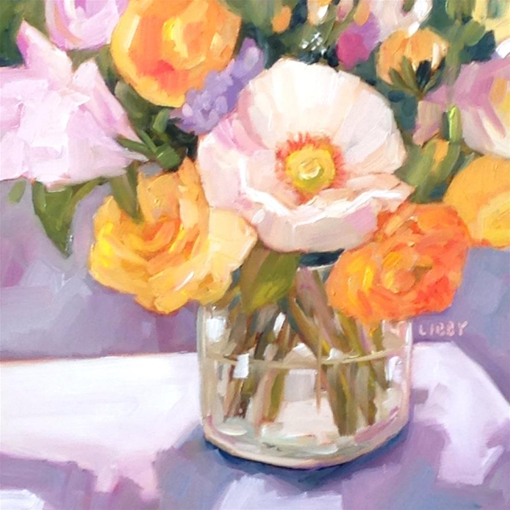 """""""Best Blooms"""" original fine art by Libby Anderson"""