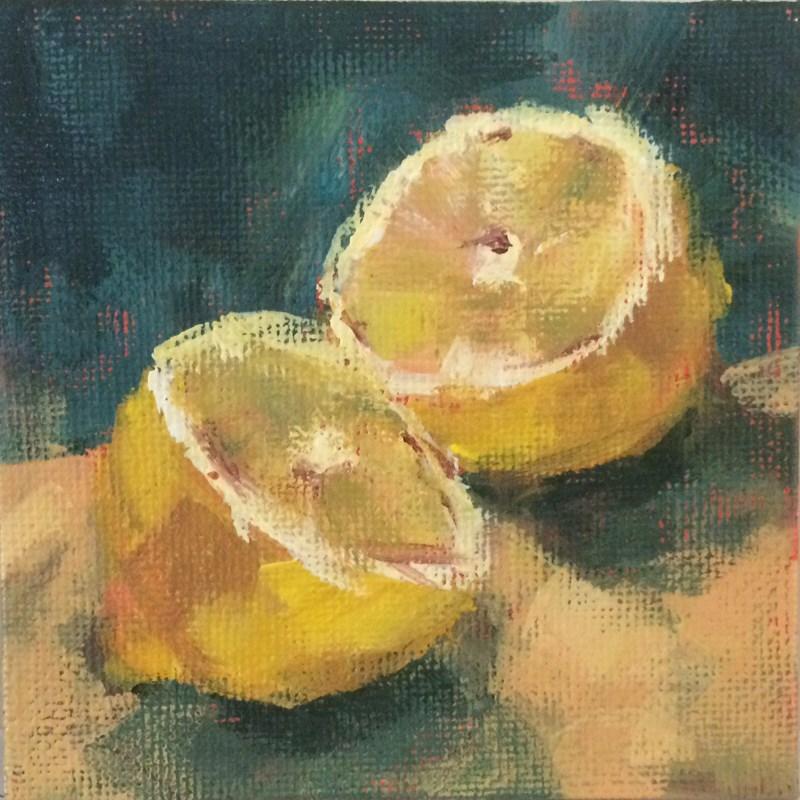 """""""Lemon Halves"""" original fine art by Shannon Bauer"""