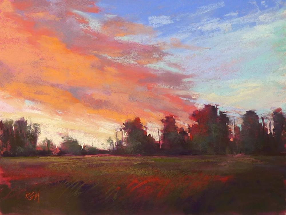 """Studio Essential: Sticky Notes Help Improve Paintings"" original fine art by Karen Margulis"