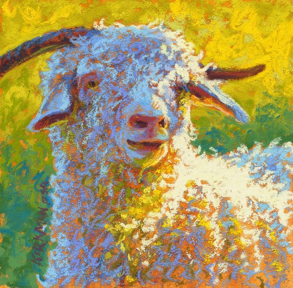 """Jed"" original fine art by Rita Kirkman"