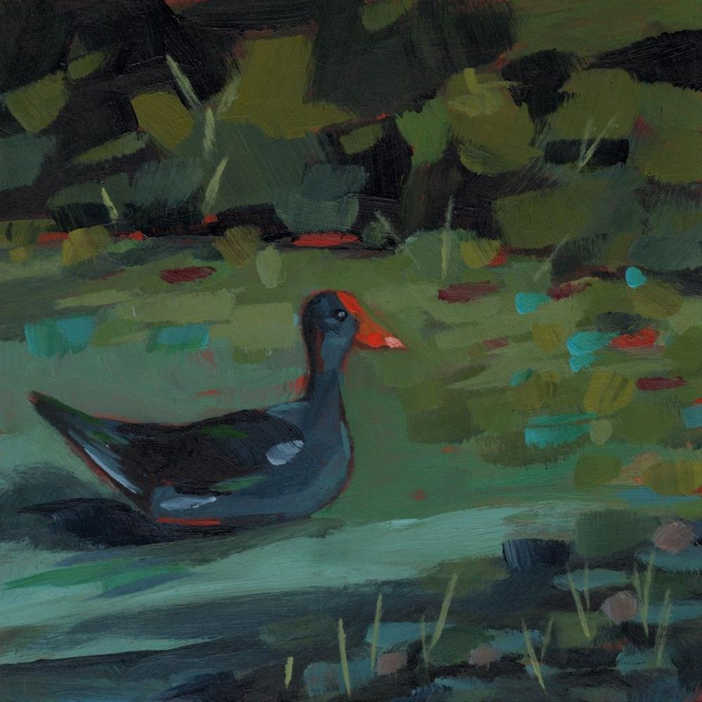 """0374: Swamp Chicken"" original fine art by Brian Miller"